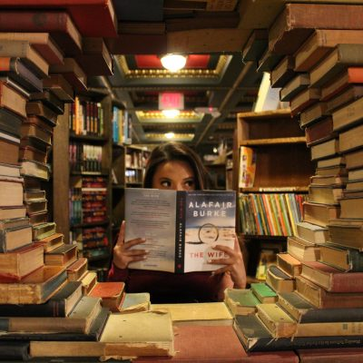 Treasure Hunting at Used Book Sales